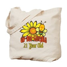Un-Bee-Lievable 21st Tote Bag