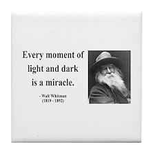 Walter Whitman 8 Tile Coaster