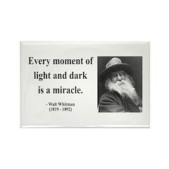 Walter Whitman 8 Rectangle Magnet (10 pack)