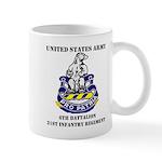 6th Battalion 31st Infantry Regiment Mug