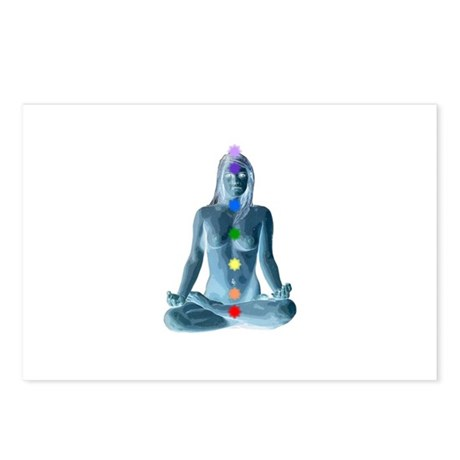 7 Chakras Postcards (Package of 8)