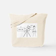 Cameraman Tote Bag