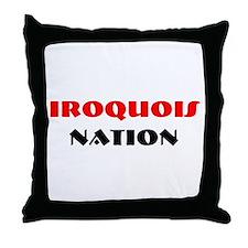 IROQUOIS NATION Throw Pillow
