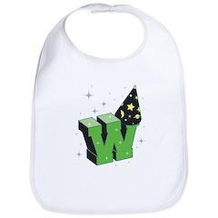 W For Wizard Bib