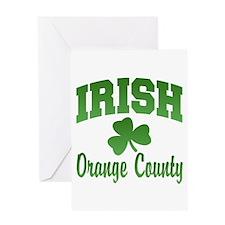 Orange County Irish Greeting Card