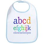 abcdefghijk ellowmellowpee Bib