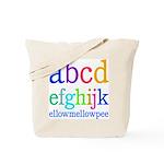abcdefghijk ellowmellowpee Tote Bag