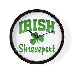 Shreveport Irish Wall Clock