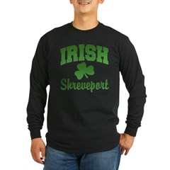 Shreveport Irish Long Sleeve Dark T-Shirt