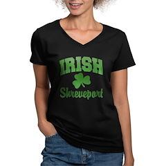 Shreveport Irish Women's V-Neck Dark T-Shirt