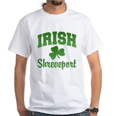 Shreveport Irish White T-Shirt