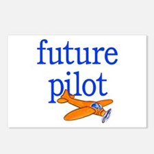 future pilot Postcards (Package of 8)