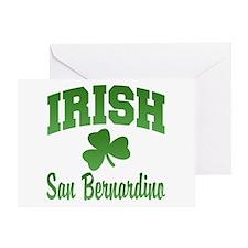 San Benardino Irish Greeting Card