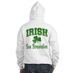 San Benardino Irish Hooded Sweatshirt