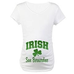 San Benardino Irish Maternity T-Shirt
