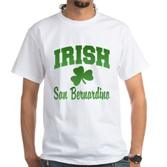 San Benardino Irish White T-Shirt