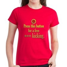Press this button Tee