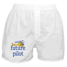 future helicopter pilot Boxer Shorts