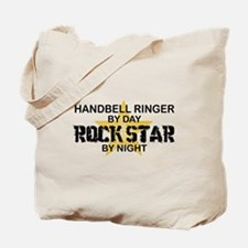 Handbell Ringer Rock Star Tote Bag