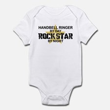 Handbell Ringer Rock Star Infant Bodysuit