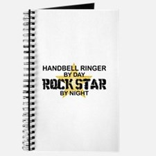 Handbell Ringer Rock Star Journal