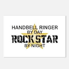 Handbell Ringer Rock Star Postcards (Package of 8)