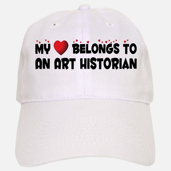 Belongs To An Art Historian Baseball Baseball Cap