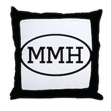 MMH Oval Throw Pillow