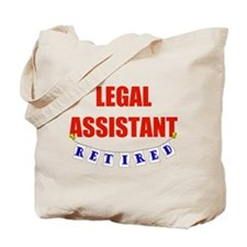 Retired Legal Assistant Tote Bag