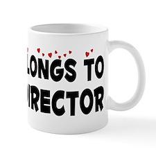 Belongs To An Art Director Mug