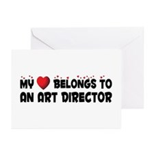 Belongs To An Art Director Greeting Cards (Pk of 2