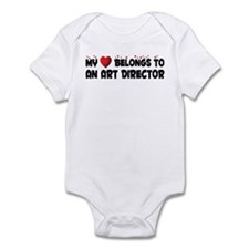 Belongs To An Art Director Infant Bodysuit