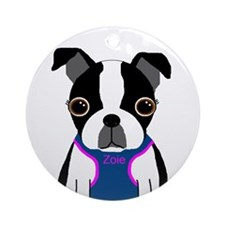 Zoie and Leah Ornament (Round)