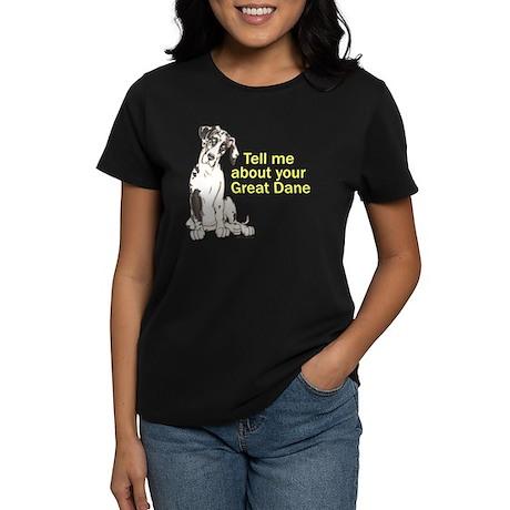 NH Tell Me Women's Dark T-Shirt