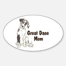 NH GD Mom Oval Decal