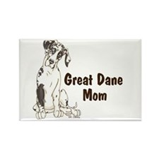NH GD Mom Rectangle Magnet