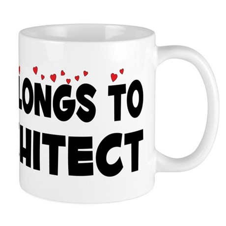 Belongs To An Architect Mug