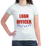 Retired Loan Officer Jr. Ringer T-Shirt