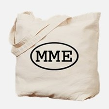 MME Oval Tote Bag