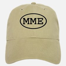 MME Oval Baseball Baseball Cap