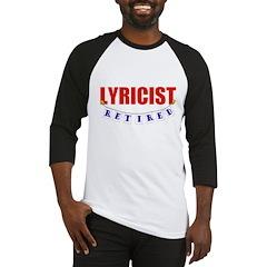 Retired Lyricist Baseball Jersey