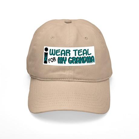 I Wear Teal For My Grandma 7.1 Cap