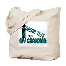 I Wear Teal For My Grandma 7.1 Tote Bag