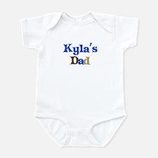 Kyla's Dad Infant Bodysuit