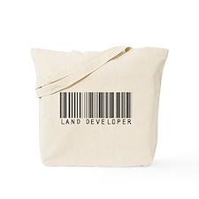 Land Developer Barcode Tote Bag