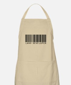 Land Developer Barcode BBQ Apron