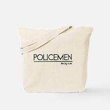 Policeman Joke Tote Bag