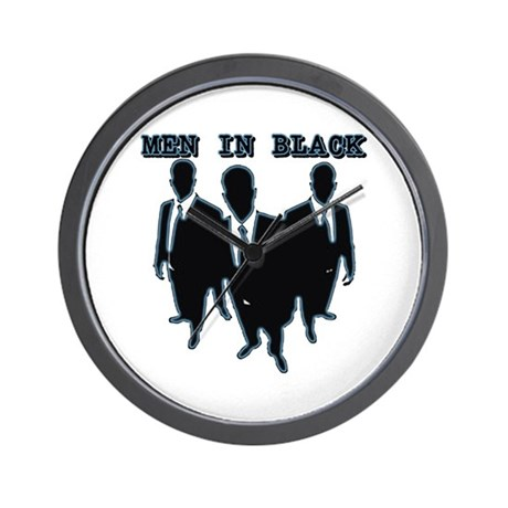 Men In Black 2 Wall Clock