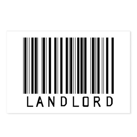 Landlord Barcode Postcards (Package of 8)
