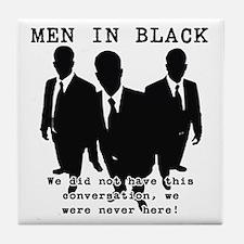 Men In Black 3 Tile Coaster